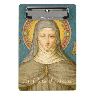Mini Prancheta St. Clare de Assisi (SAU 027)