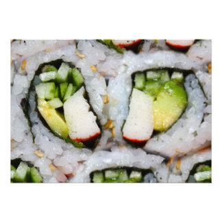 Mini rolo de Califórnia - sushi
