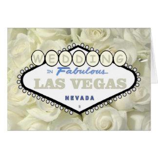 Mini rosas da respiração do bebê que WEDDING no Cartão Comemorativo