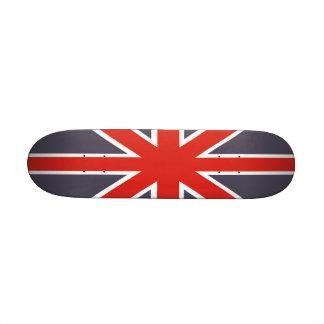 Mini skate da bandeira britânica