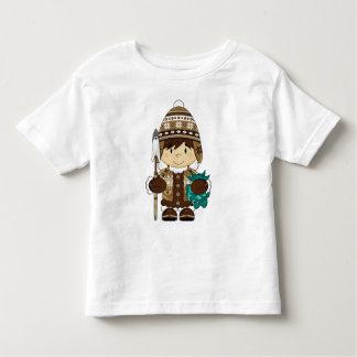 Mini T bonito do pescador do Inuit Tshirt