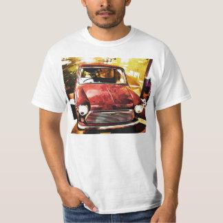 Mini t-shirt retro do carro