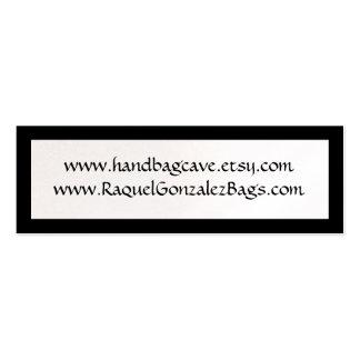 Mini Tag do cartão de visita