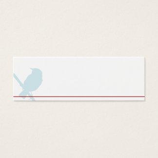 Mini Tischkarten para o tabuleiro de boda Cartão De Visitas Mini