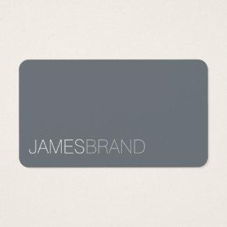 Minimalista elegante cartão de visitas