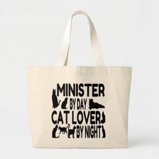Ministro do amante do gato bolsas de lona