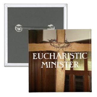 MINISTRO EUCARÍSTICO BÓTON QUADRADO 5.08CM