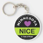 """""""Minnesota agradável - um estado chaveiro do coraç"""