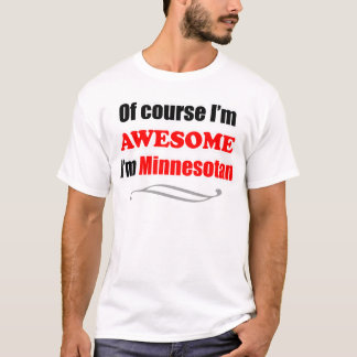 Minnesota é impressionante camiseta