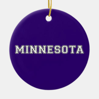 Minnesota Ornamento De Cerâmica