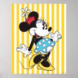 Minnie Mouse clássica 3 Pôsteres