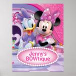 Minnie Mouse e margarida customizáveis Impressão