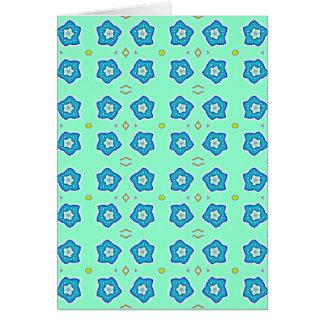 miosótis cartão comemorativo