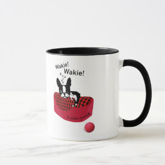 Mirabelle o terrier Wakie de Boston! Caneca de