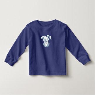Mirtilo longo do T da luva das crianças de T-shirt