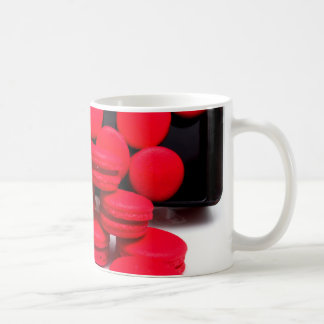 Miscellaneous - Red Macarons One Caneca De Café