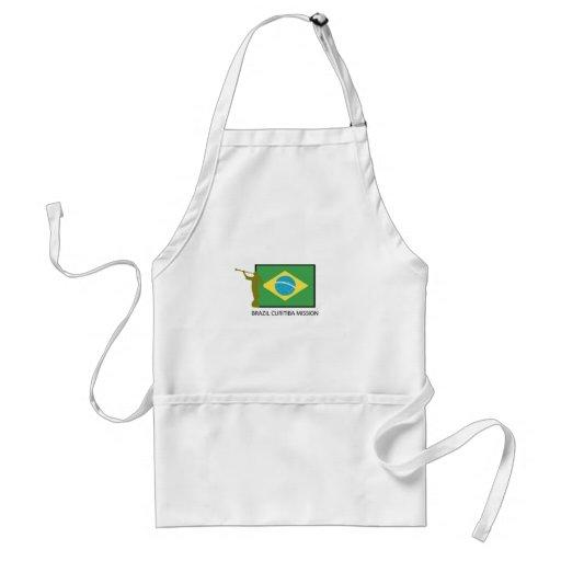 MISSÃO LDS DE BRASIL CURITIBA AVENTAL
