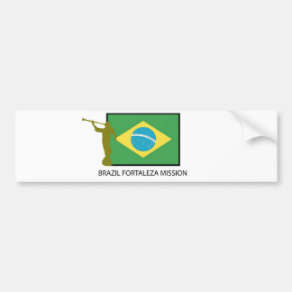 MISSÃO LDS DE BRASIL FORTALEZA ADESIVO PARA CARRO