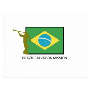 MISSÃO LDS DE BRASIL SALVADOR CARTÃO POSTAL