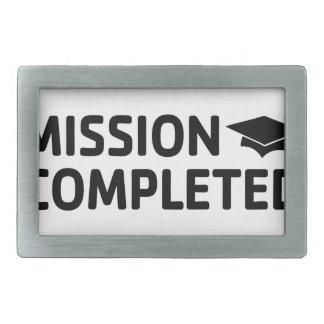 Missão terminada