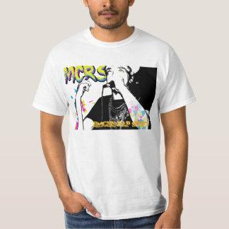 missrapsheet copy2, FOLHA de RAP do EMCEE Tshirts