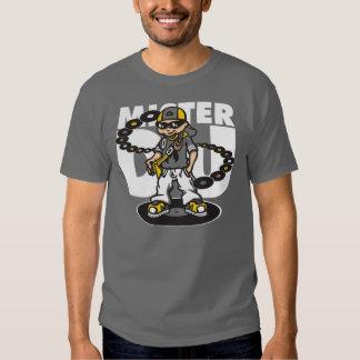 Mister Dj and vinyls T-shirts