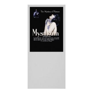 Mistério das flores - perfume de Mystikum 10.16 X 22.86cm Panfleto