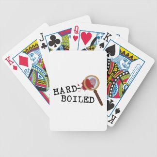 Mistério Hardboiled Baralhos De Pôquer