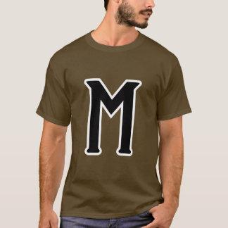 Mistério (logotipo) camiseta
