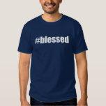 Mistura #blessed Hashtag abençoado Tag Tshirt