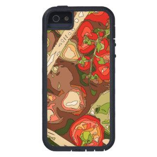 Mistura bonita de frutas e legumes orgânicas capas para iPhone 5
