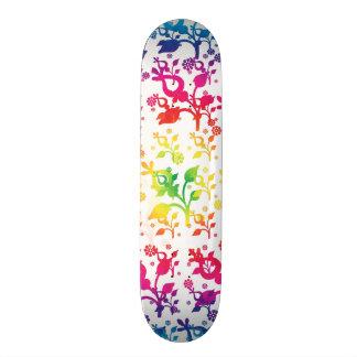 Mistura floral shape de skate 18,7cm