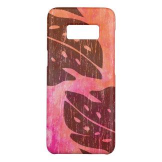 Mistura havaiana da Laço-Tintura do rosa da folha Capa Case-Mate Samsung Galaxy S8