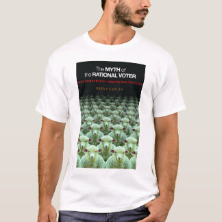 Mito do t-shirt racional do eleitor - cobrir camiseta