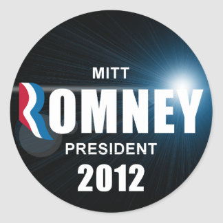 Mitt Romney - anti Barack Obama Adesivos