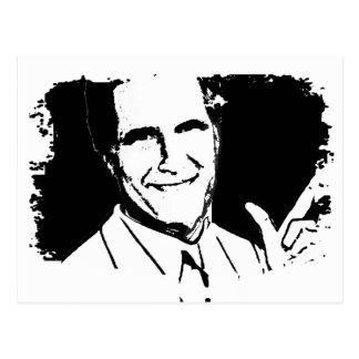 Mitt Romney de fala Cartão Postal