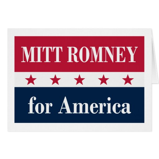 Mitt Romney para América Cartoes