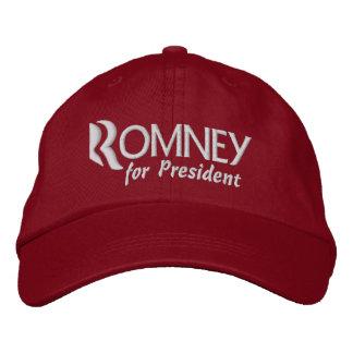 Mitt Romney para o presidente 2012 Boné Bordado