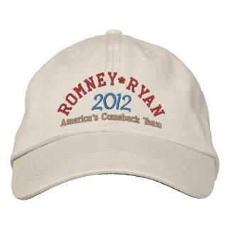 Mitt Romney Paul Ryan 2012 Bones Bordados