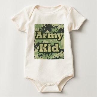 Miúdo do exército babadores