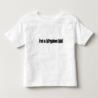Miúdo do reino camisetas