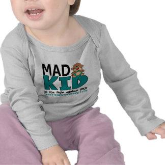 Miúdo louco PKD Camisetas