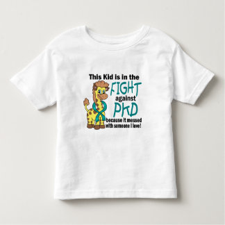 Miúdo na luta contra PKD Camisetas