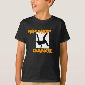 Miúdo; t-shirt da dança de s Hip Hop Camiseta