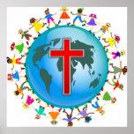 Miúdos cristãos posteres