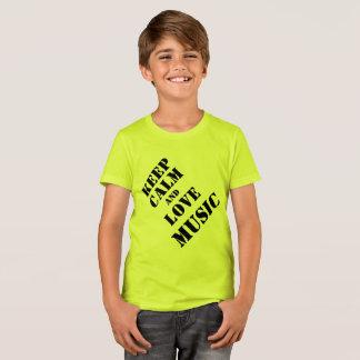 Miúdos das camisas da música T