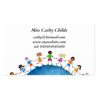 Miúdos globais, cartão de visita