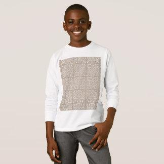 Miúdos marrons e luva longa branca… camiseta