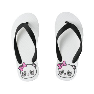 Miúdos mindinhos dos chinelos da panda do Pinkie