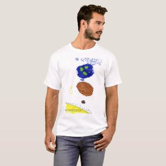 Miúdos no espaço camiseta